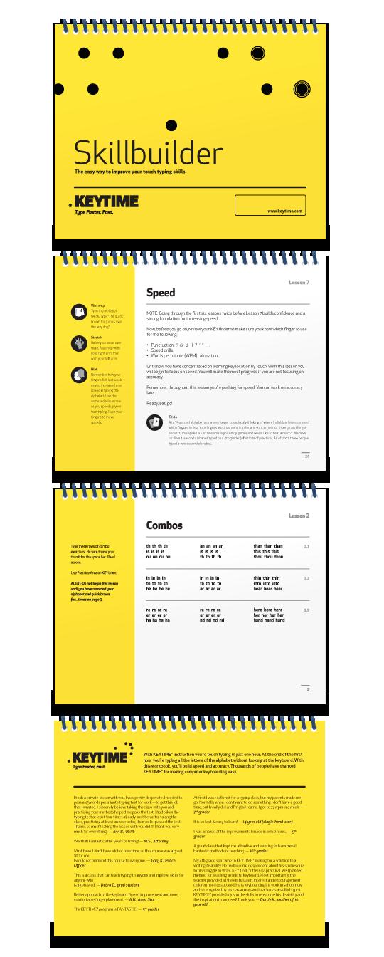 Skillbuilder booklet
