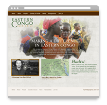 Eastern Congo Initiative Website
